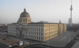 Live Webcam Berliner Schloß Westfassade